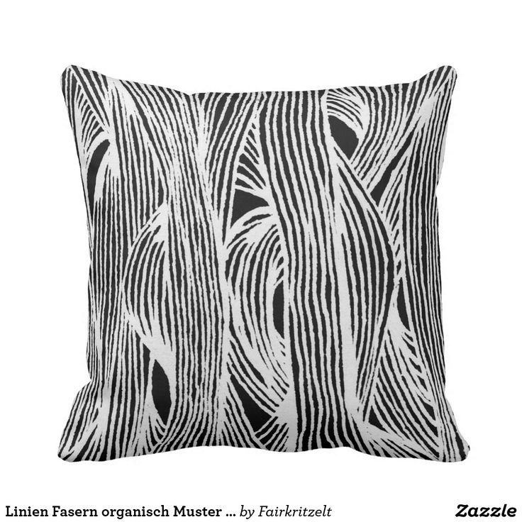 Linien Fasern organisch Muster schwarzweiß