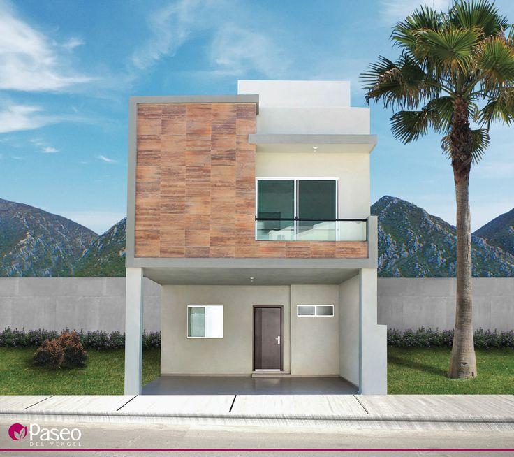 1000 images about casas construcci n fachadas de - Casas amuebladas modernas ...