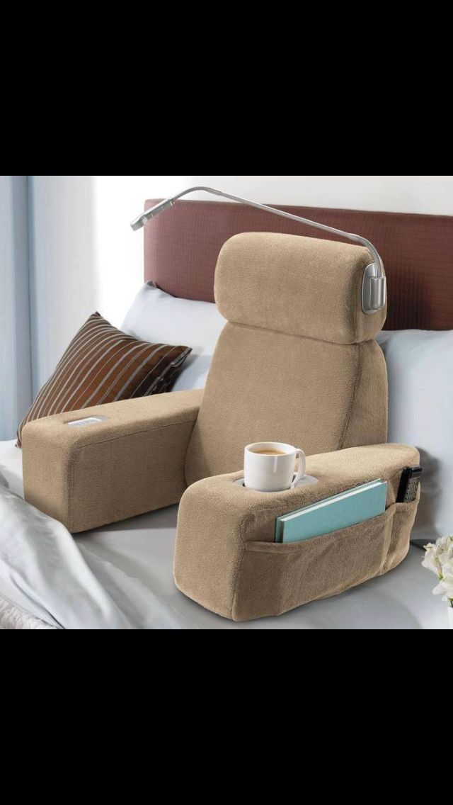 Bed Arm Chair Home Reading In Bed Reading Pillow Bed