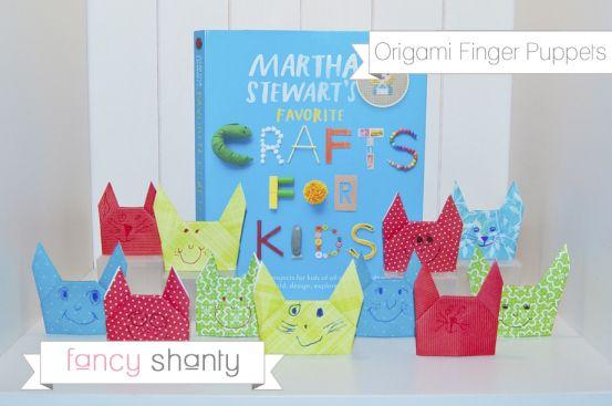 Origami Finger Puppet Craft