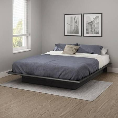 Full Size Bed Platform With Molding South Shore Furniture Gray Oak Modern. Best 25  Queen platform bed ideas on Pinterest   Queen platform