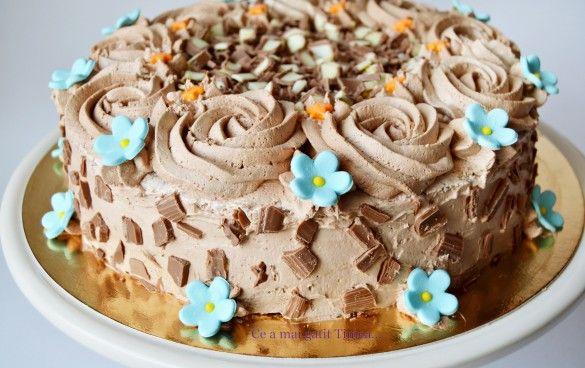 tort de ciocolata 2
