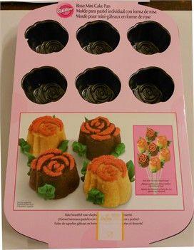 Rose Mini Cake Pan Wilton