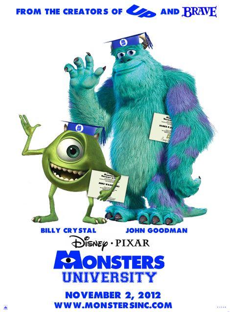 monsters inc university full movie