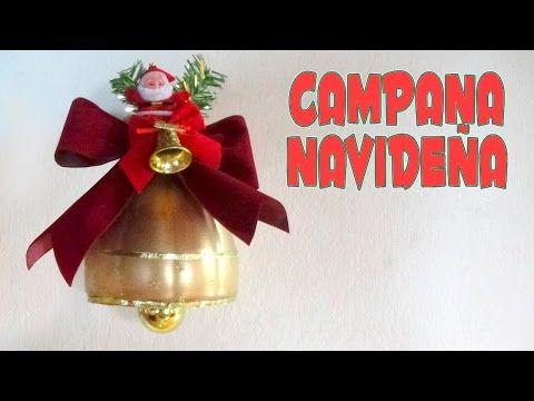 DIY CAMPANA HECHA CON BOTELLA DE PLASTICO Y LIMPIA PIPAS - YouTube