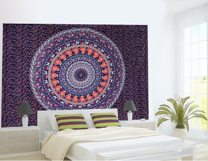 Tapestry Wall Art 10 best mandala wall art images on pinterest | mandala tapestry
