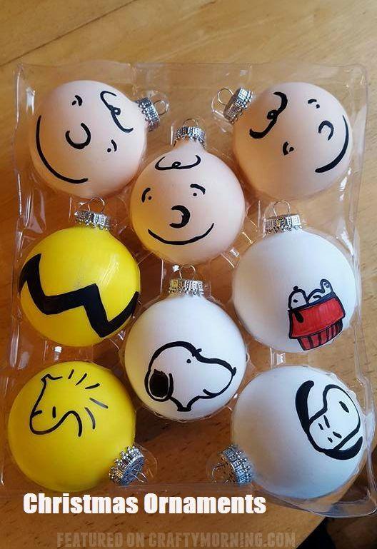 Top Ten Christmas Ornaments Snoopy Christmas Decorations Peanuts Christmas Peanuts Gang Christmas