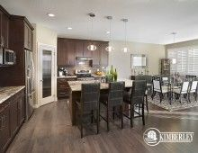 Kitchen and eating area. Sapphire in Creekwood Chappelle.