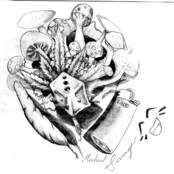 420 tattoo designs - 736×737