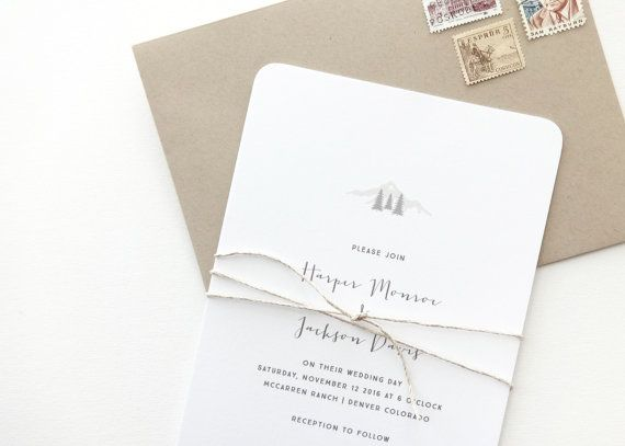Harper Wedding Invitation | Classic, timeless letterpress wedding invitations from August + White | Simple Wedding Invitation | Wedding Invites | Save the Dates | Wedding Stationery