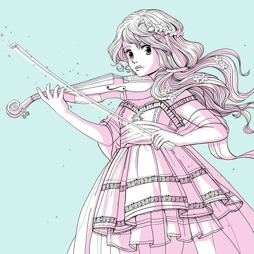 Magical March: music  #MagicalMarch #MagicalMarch2018 #magicalmarch #magicalmarch2018 #artwork #art #artist #illustration #illustrator #drawingoftheday #drawing #digitalart #instaart #instaartist #artlife #artgallery #instadraw #artoftheday #magicalgirl #music #kawaii #cute