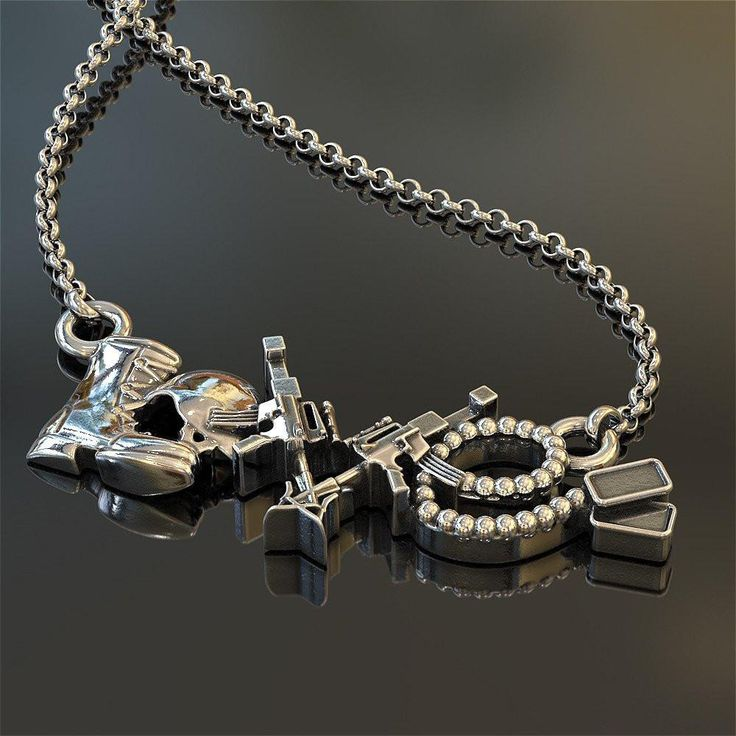 Solider Love Necklace - US Military Jewelry