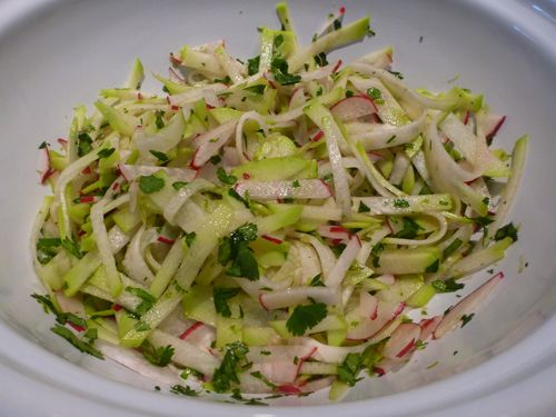 Chyote Slaw, check ut this twist on a summer classic