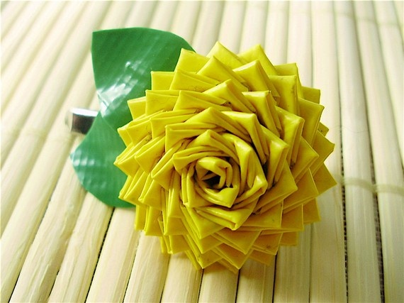 duck tape flower