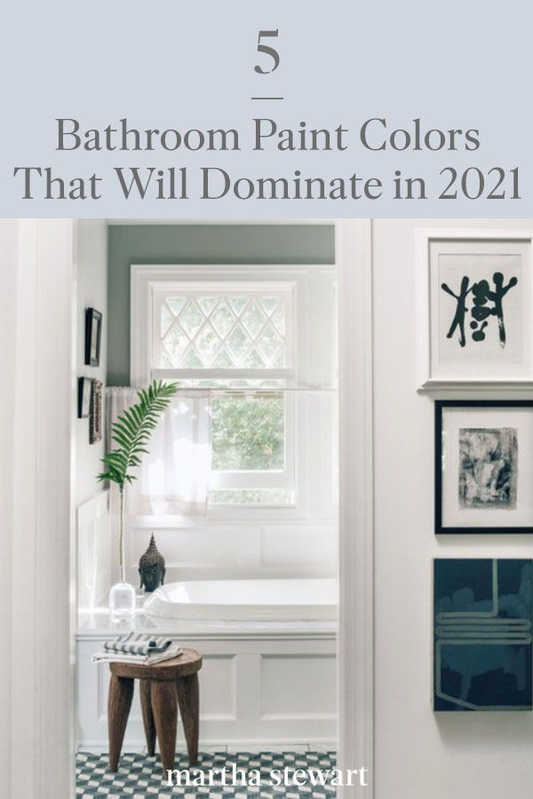 five bathroom paint colors that will dominate in 2021 on paint colors for 2021 office id=71173