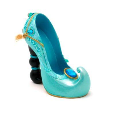 Questa deliziosa scarpetta ornamentale della principessa Jasmine sarà un regalo perfetto! La scarpetta da collezione cattura lo spirito della magia Disney in ognuno dei modelli, ispirati ai personaggi.
