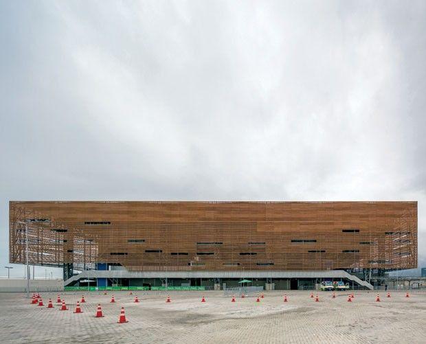 Centros esportivos da Olimpíada Rio 2016 apostam na arquitetura nômade