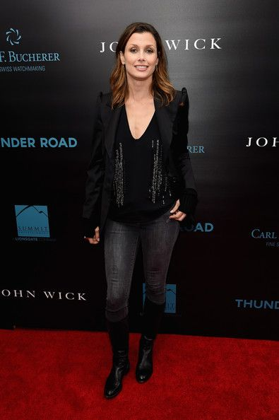 Bridget Moynahan Photos - 'John Wick' Premieres in NYC - Zimbio