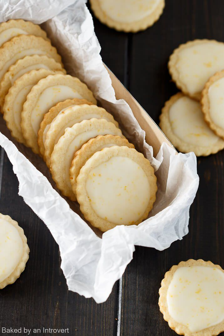 These Iced Meyer Lemon Cookies just the thing to cure those wintertime blues.