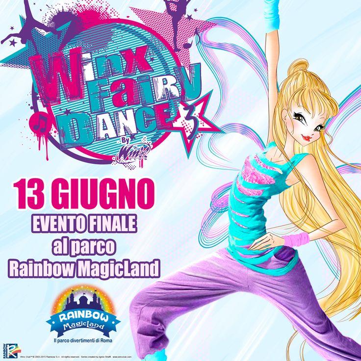 """Il 13 giugno si è svolta la finalissima della terza edizione del progetto di danza """"Winx Fairy Dance"""""""