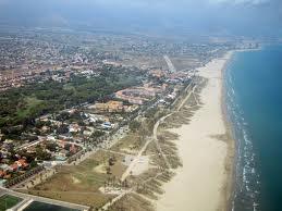 La playa de Castellón (Spain)