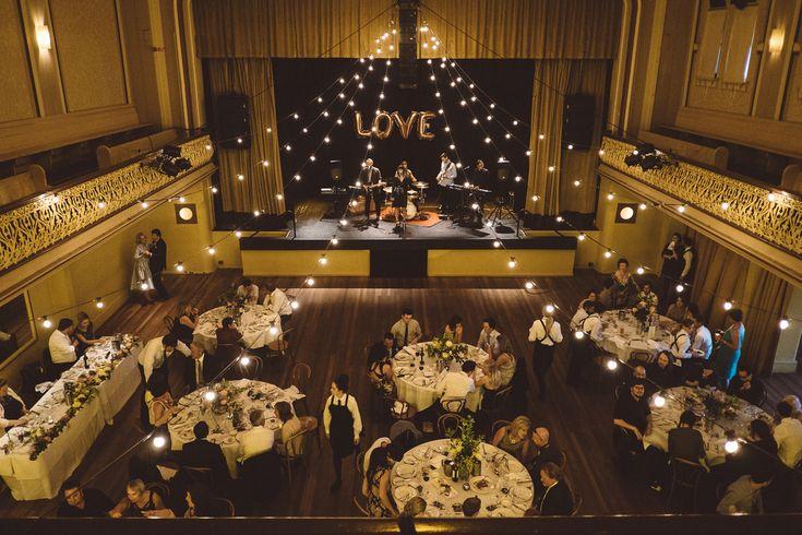 Warming lights #wedding #melbourne #reception #ormondhall #lights #love #gold #vintage