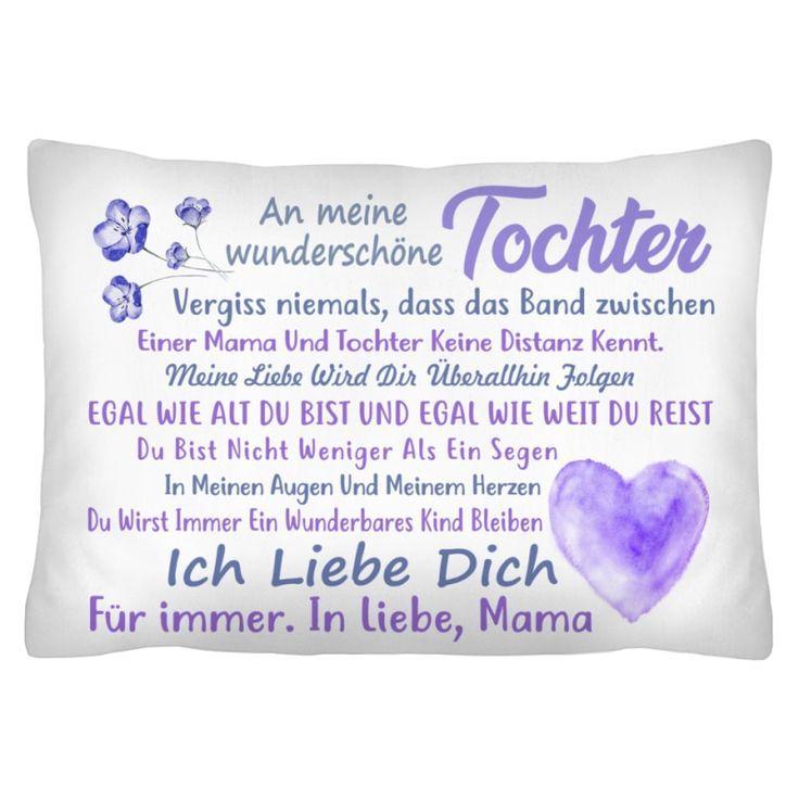 De An Meine Tochter Ich Liebe Dich Fur Immer In Liebe Mama