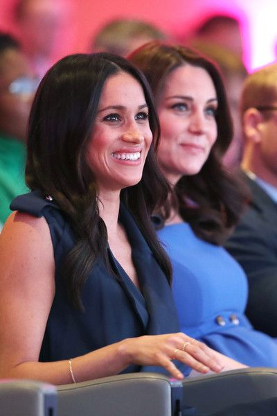 Kate Middleton Photos - Meghan Markle and Catherine, Duchess of Cambridge attend the first annual Royal Foundation Forum held at Aviva on February 28, 2018 in London, England. Under the theme 'Making a Difference Together', the event will showcase the programmes run or initiated by The Royal Foundation. - First Annual Royal Foundation Forum