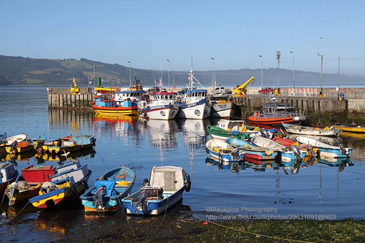 #Chile ~ Chiloé, Ancud Harbour