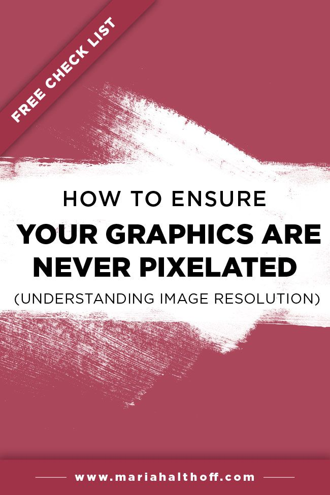 If you've been designing graphics for your blog or business, you've probably run into a few instances where your graphics come out blurry or pixelated. I'm walking you through best practices to avoid this frustrating problem!