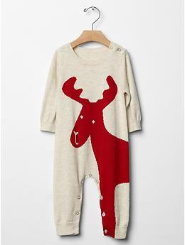 Animal sweater one-piece | Gap