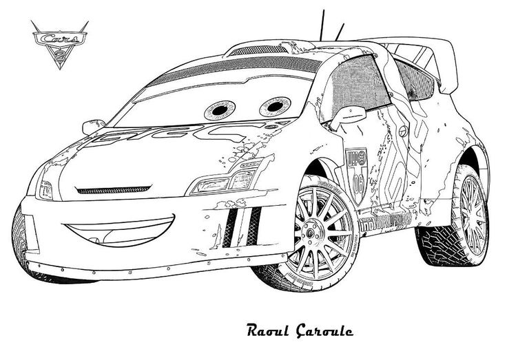 Printable Lightning Mcqueen Coloring Pages http://www