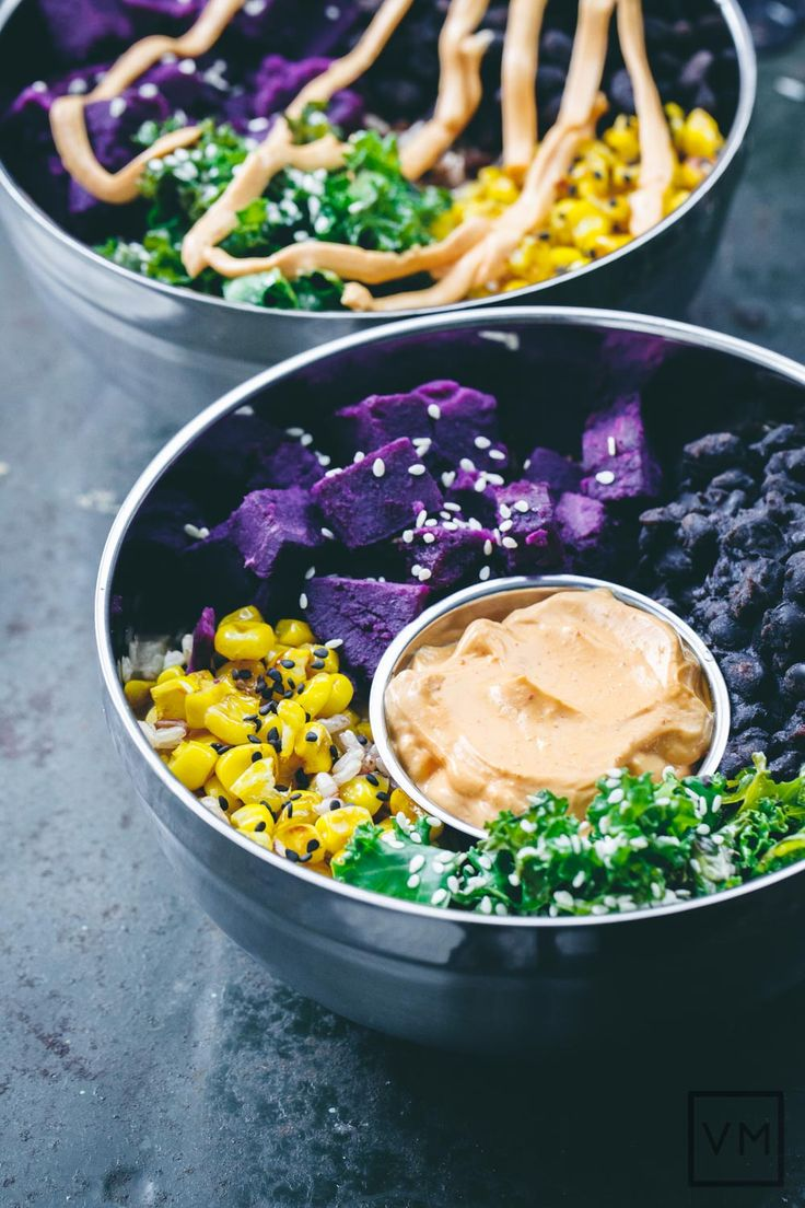 185 best korean food more images on pinterest cooking food vegan gochujang mayo rice bowl by vegan miam forumfinder Image collections