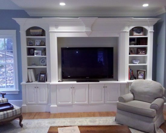 Entertainment Center Design, Pictures, Remodel, Decor and Ideas – page 40 BASEMENT MEDIA ROOM
