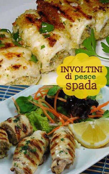 Involtini di pesce spada alla siciliana VIDEO RICETTA