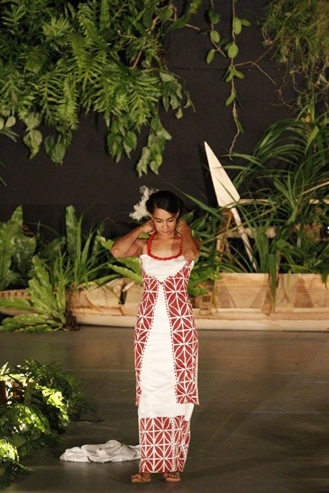 Miss Samoa 2012 Competition Beautiful Dress Oml Wow