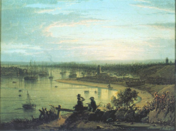 North Shields River Tyne - Oil Painting Reproduction On Canvas
