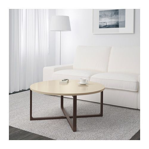 RISSNA Coffee table  - IKEA. Can upholster the top if desired to make it more bench like.
