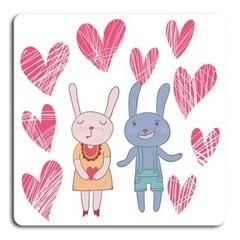 Kaniner  http://www.barndekor.se/products/barntavla-kaniner