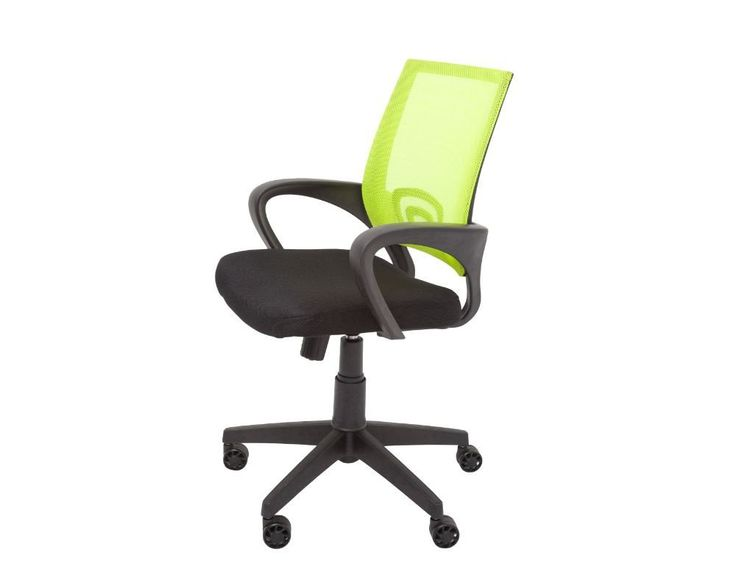 Rapidline Vesta Mesh Back Operator Chair With Arms Lime