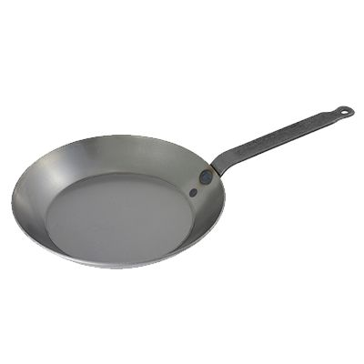 """Matfer Bourgeat 062005 11-7/8"""" Round Frying Pan - Cook's Illustrated #1 Fry Pan"""