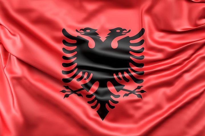 Albânia, Pavilhão, Europa, Red