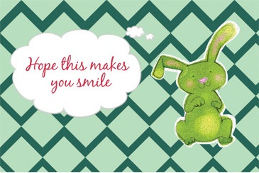 I created a card in 4 simple steps and Chico's FAS, Inc. will send it to a child in my local hospital. For each card sent, Chico's FAS, Inc. will donate 1 dollar to Children's Miracle Network Hospitals®, up to 50,000 dollars.
