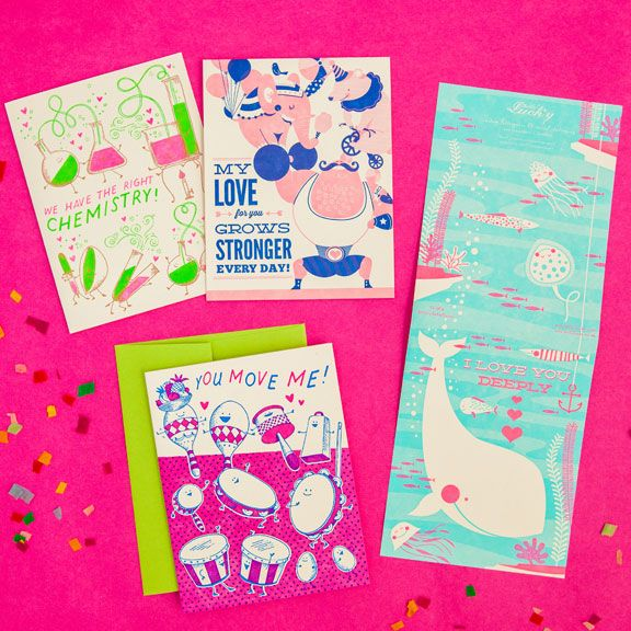 love and friendship cards www.hellolucky.com