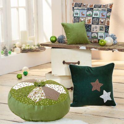 "Набор тканей ""Weihnachtspost"", green-color"