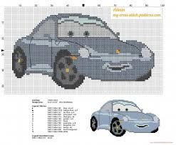 disney cars cross stitch pattern free - Google Search