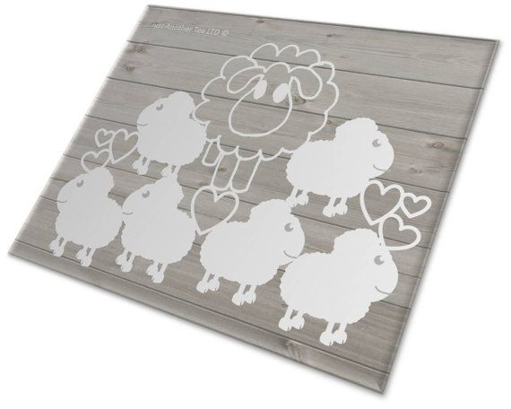Pile Up Sheep Papercutting Template Commercial by JustAnotherTee