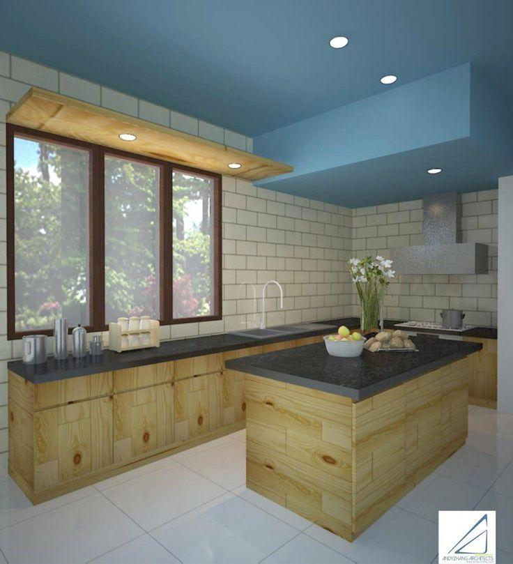 Contemporary | Kitchen | Escape Villa | Bogor | Andy Zhang Architects