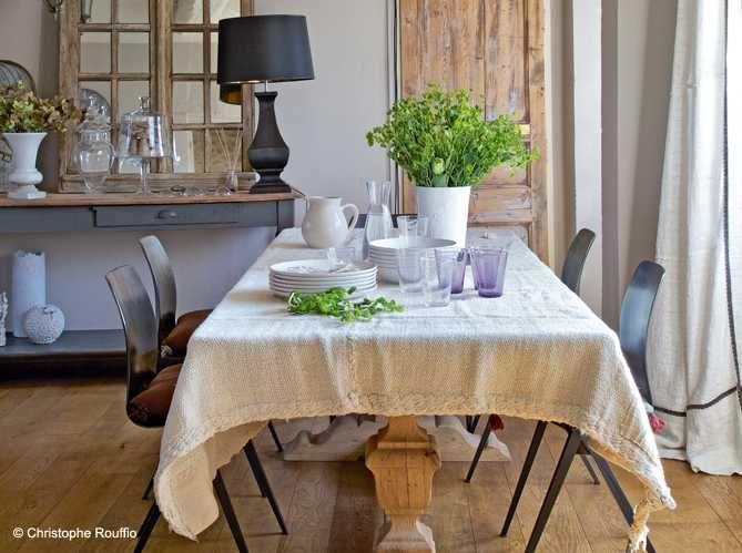 Старинный дом в Нормандии | Пуфик - блог о дизайне интерьера
