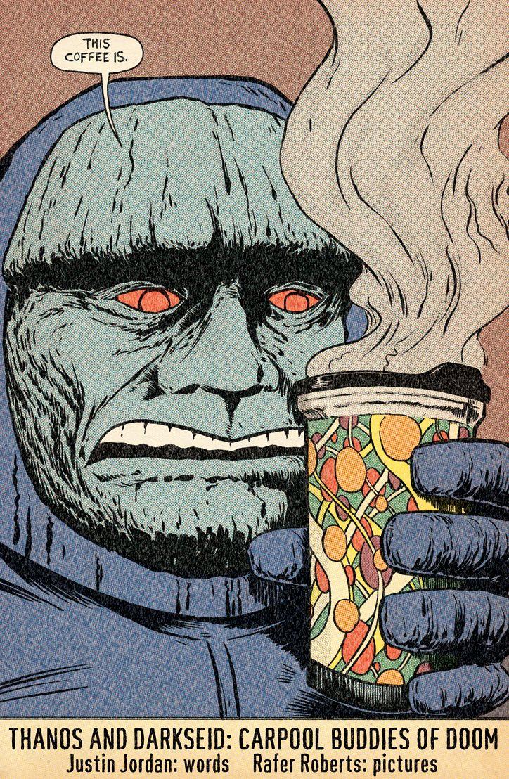 Thanos & Darkseid - Carpool Buddies of Doom